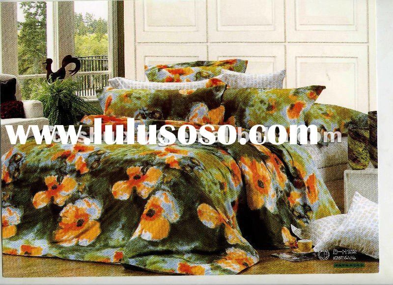 Colorful&Luxury!100%Combed Cotton Printed 4-9Pcs Duvet Covers