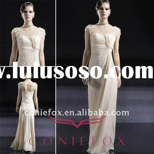 Coniefox 2011 Sleveeless Beaded Fancy Ladies Formal Wear 56659