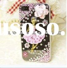 For iPhone 4/4S diamond Cases With Swarovski Crystal
