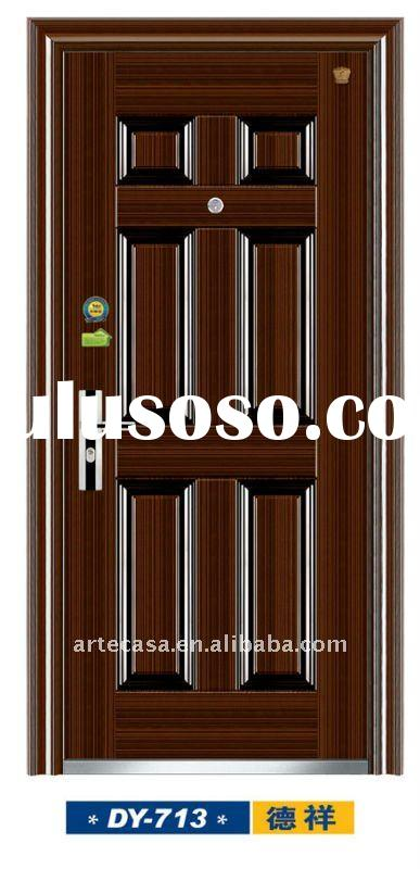 Commercial Metal Door Pricing : Flush commercial steel doors pvc coated for