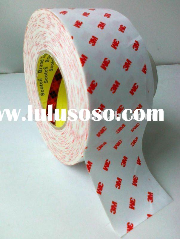 High strong adhesive of 3M 9888T double sided tape