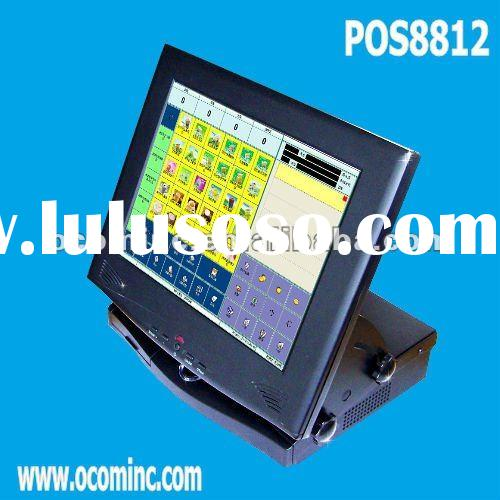 Low Cost 12 Inches All-In-One Small Touch Screen POS Machine (POS8812)