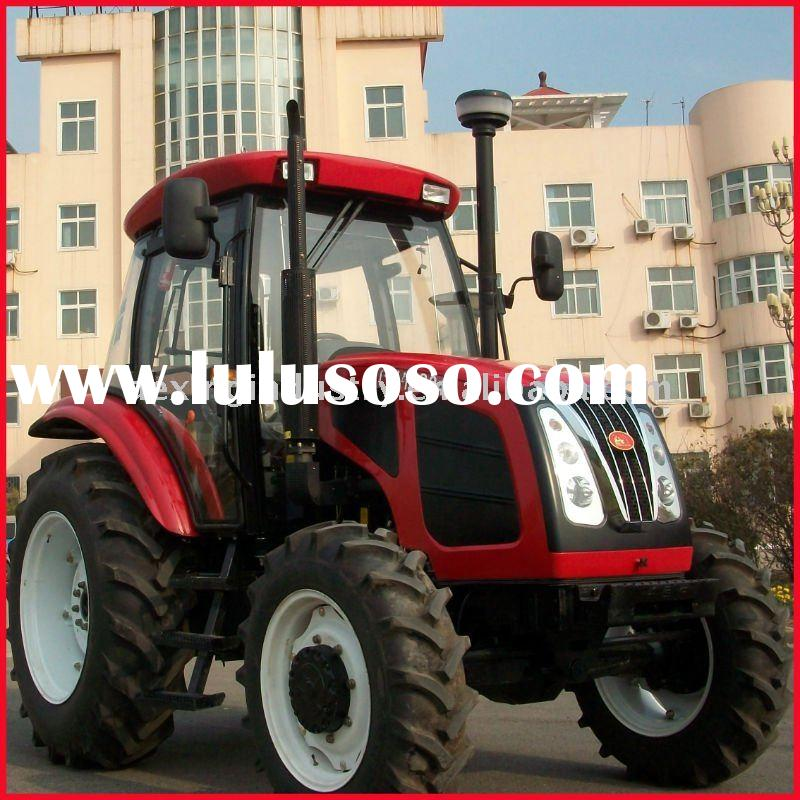 Low price 90Hp Big Farm tractor with Luxury Cab
