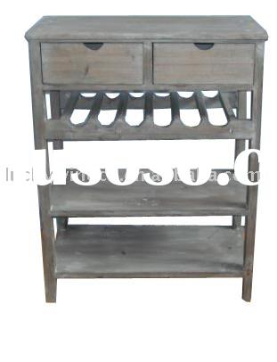 Shabby and chic Wooden Wine Table