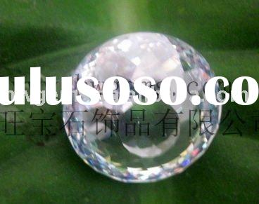 Synthetic Crystal Cubic Zirconia Round Ball/Bead