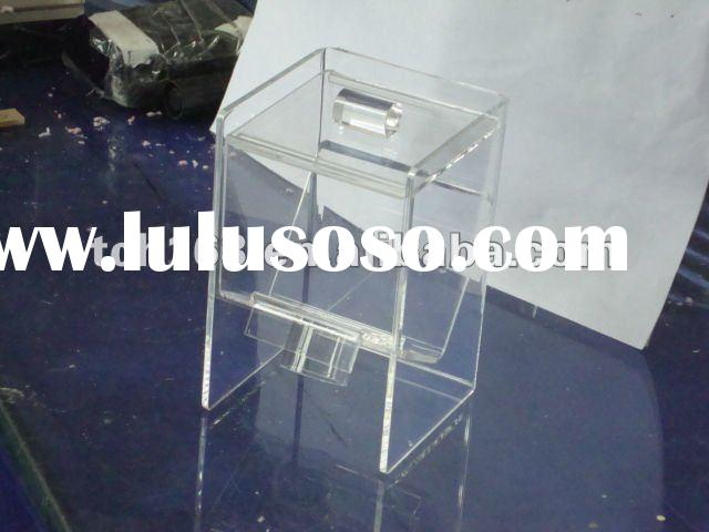 Transparent Acrylic candy box;