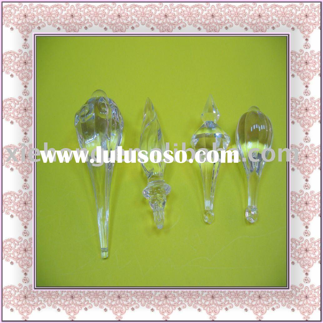 Unique Shape Acrylic Bead for Christmas Lighting,Hotel,Home decoration