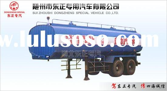 Water tank semi-trailer