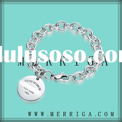 Wholesale fashion 925stering silver bracelet,replica jewelry