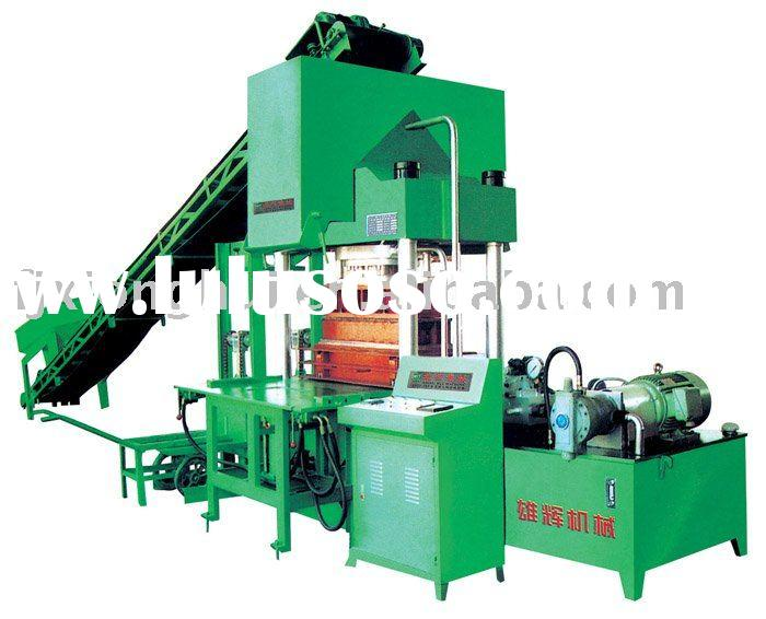 XH3000 interlocking, curbstone and paving stone making machine