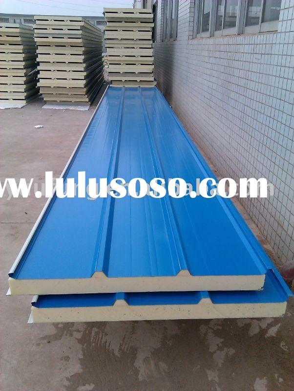 Polyurethane Sandwich Panel Roof : Polyurethane roof panel for sale price china