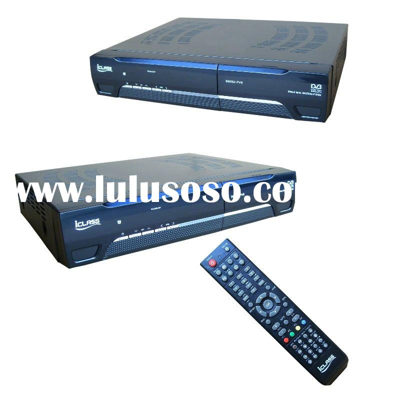 digital satellite receiver ICLASS 9696X with multi video outputs