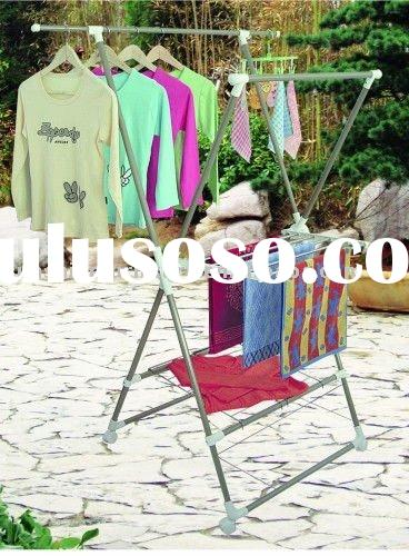 folding metal Clothes Hanger Rack/Coat Stand Drying