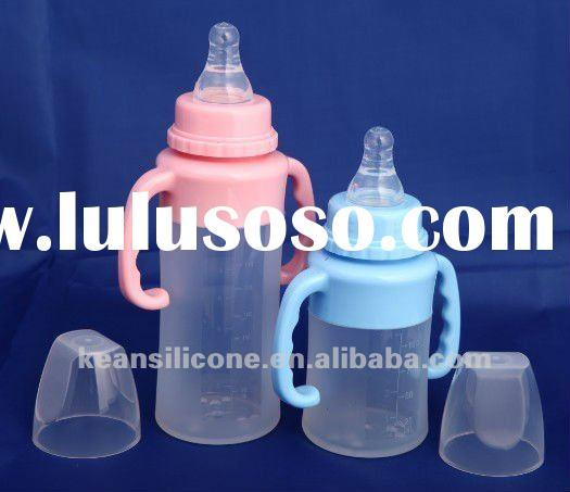 food grade baby food bottle feeder,Health and envirometal,any specification nipple can be supplied
