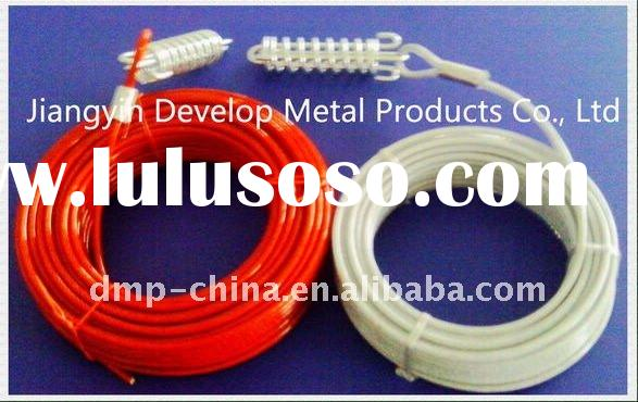 high quality PVC coated steel wire rope and Sling