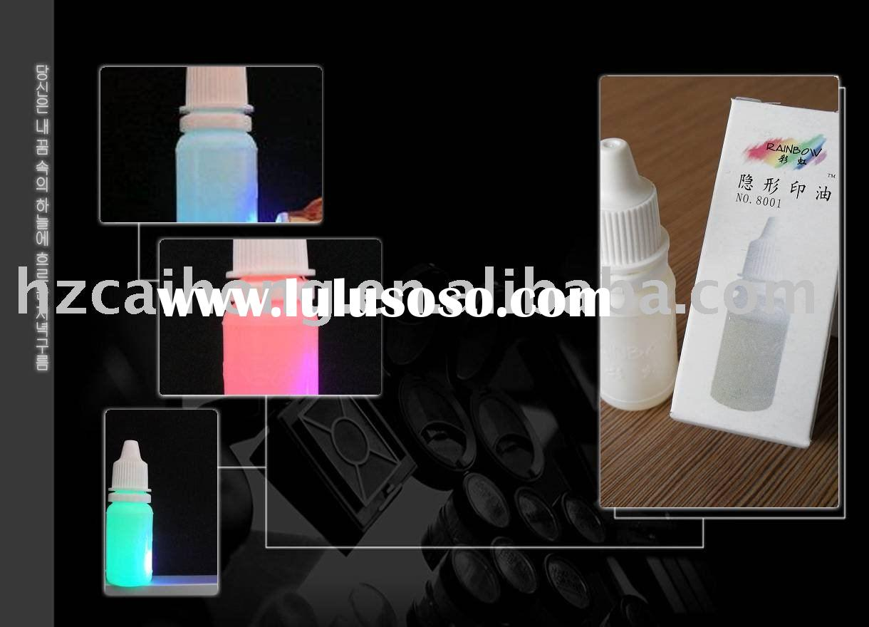 invisible ink,refill ink for stamp pad,Industrial security pad ink