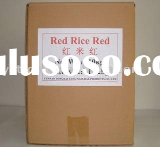natural raw materials Red rice red for Natural Pigment Edible Colorant