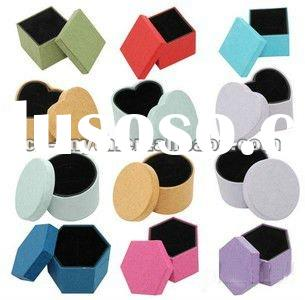 new products for 2012 jewelry box hardware hook jewelry decorative pill boxes paper box
