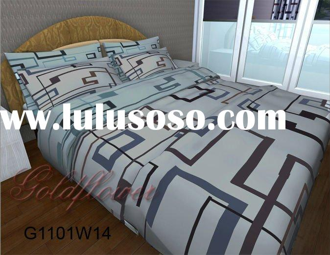 100%cotton the newest bed sheet 2011