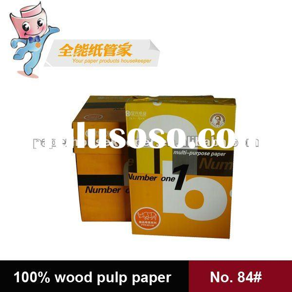 100% high quality wood pulp copy paper