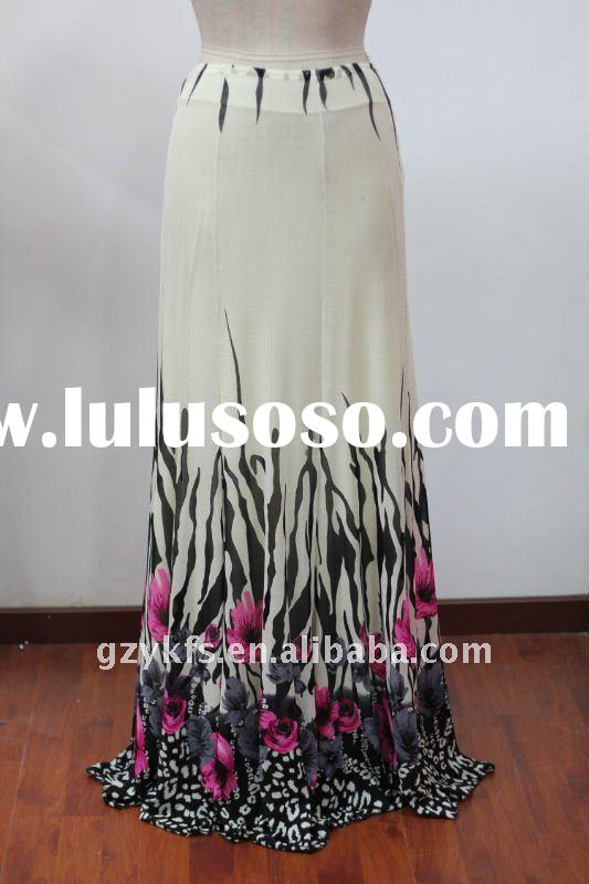 2012 fashion Pictures Of Long Mesh Skirts