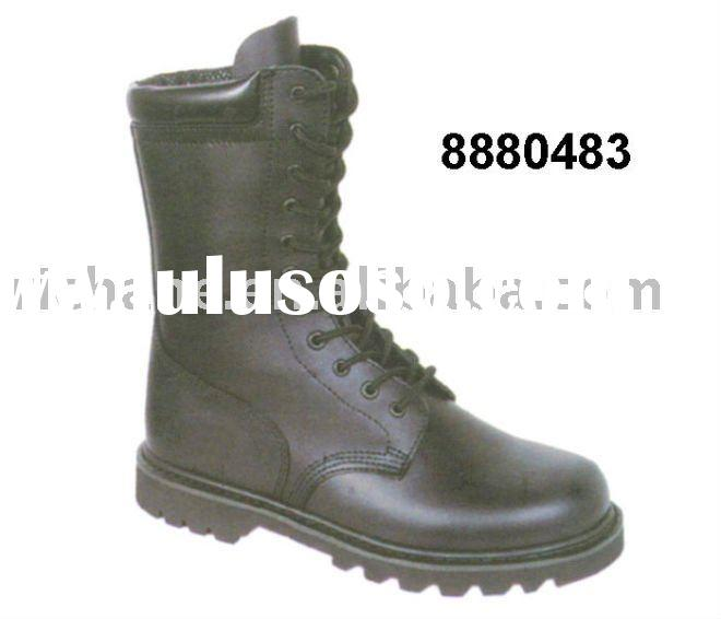 8880483 Genuine leather Goodyear Welt Combat Boots