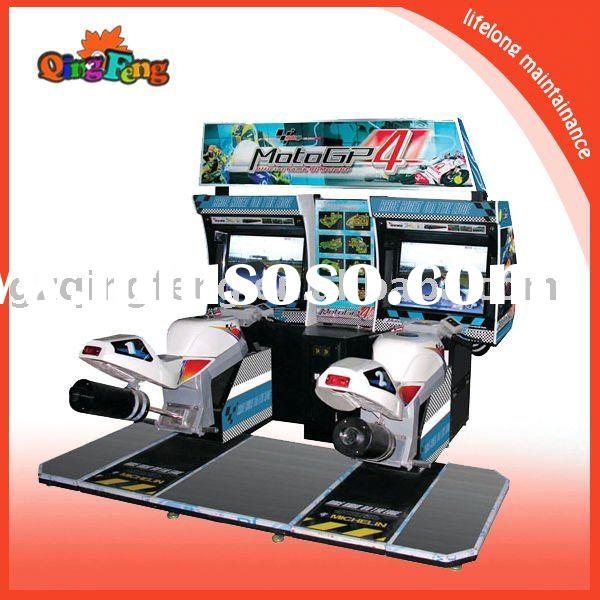 Amusement video racing motor simulator game machine --- GP motor- (MR-QF002-1)