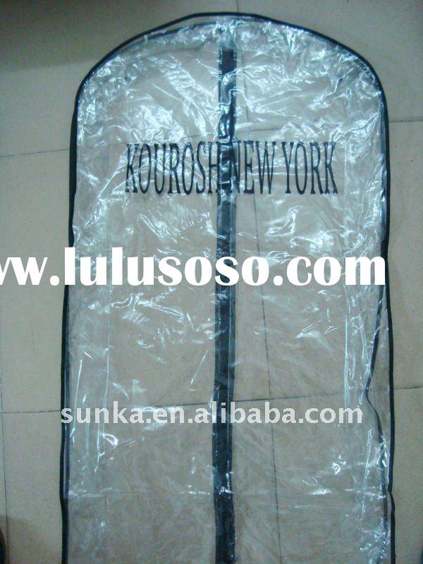 Clear Plastic Zipper Garment Bag (SJ-SC-011)