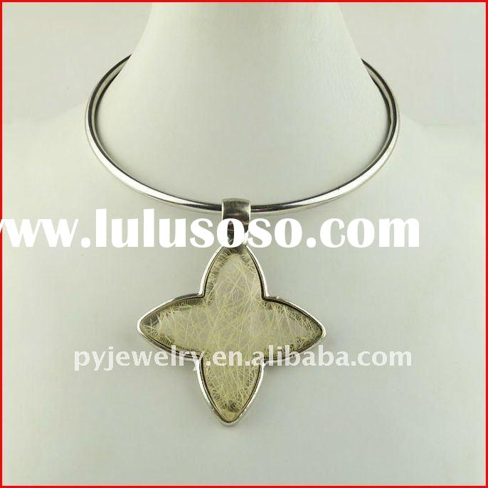 Fashion new arrival jewelry,lady polished resin jewelry necklace