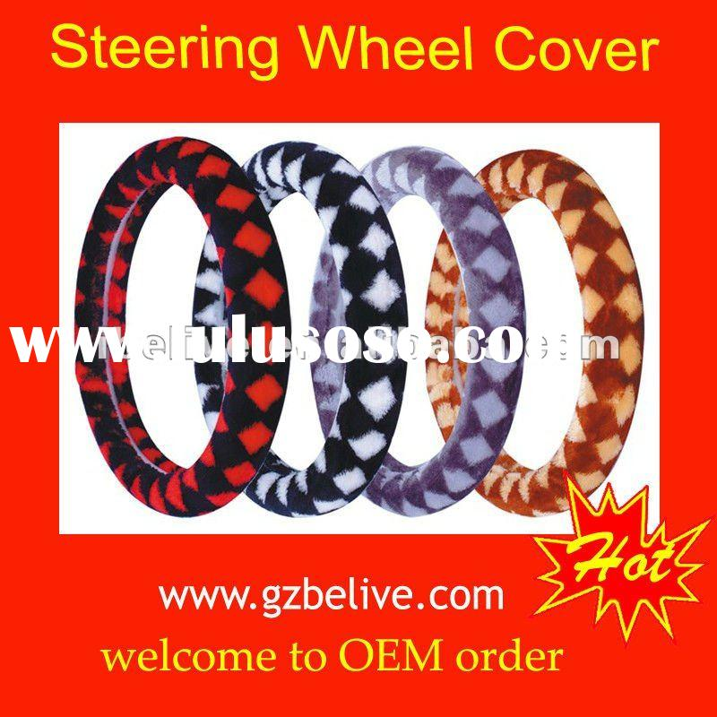 High quality Steering Wheel Covers for PU,PVC,rubber