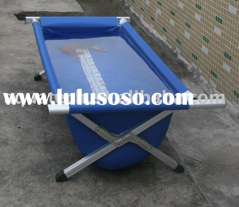 Fiberglass koi measuring tub for sale price china for Koi pond tubs