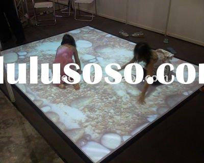 Magic Interactive floor system for kids center, amusement park, play house with lowest cost