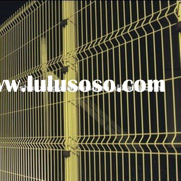 PVC coated Wire Mesh Fence, Welded Wire Mesh Fence
