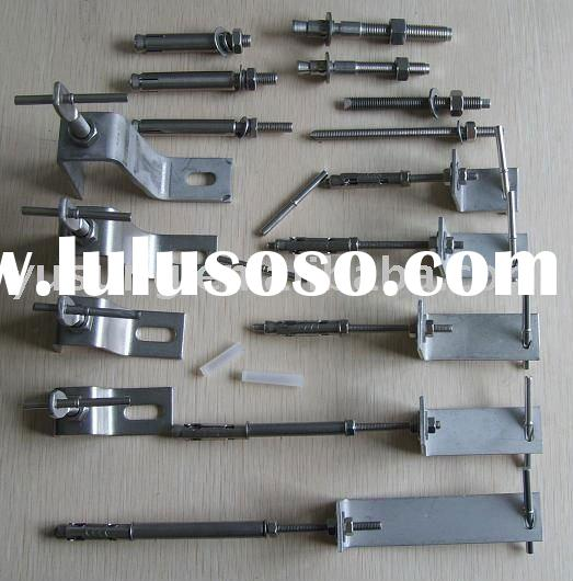SS304 Stone fixing system,stainless steel marble bracket,stone angle, marble anchor,granite anchor