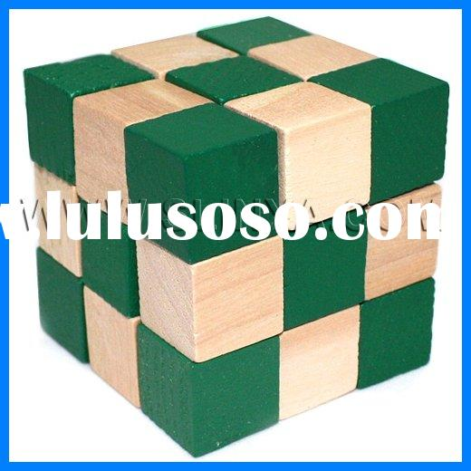 Soma Cube Wood Puzzle Wooden Toy Wooden Puzzle Wooden Puzzle