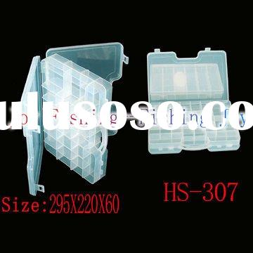 best selling and high quality clear plastic fly fishing box