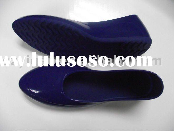 fashion rubber rain shoes