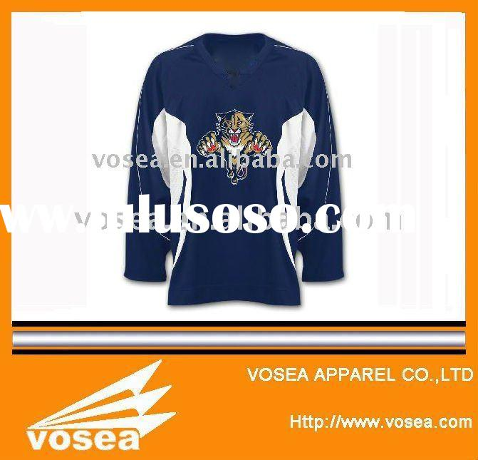 ice hockey jersey,top quality printing or embroidery hockey jersey