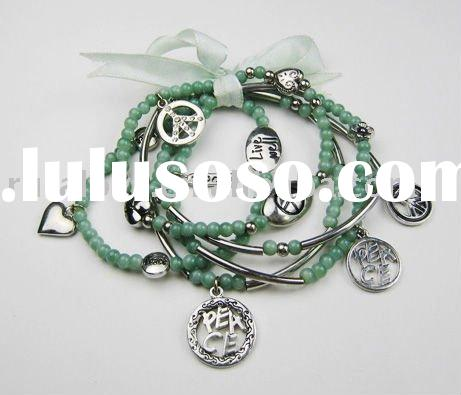 most popular charm bracelet with beads