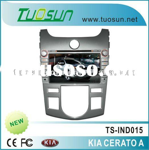 radio car dvd for Kia Cerato (Manual Version) with 8 inch HD TFT touch Screen /Bluetooth/Dual-zone/R