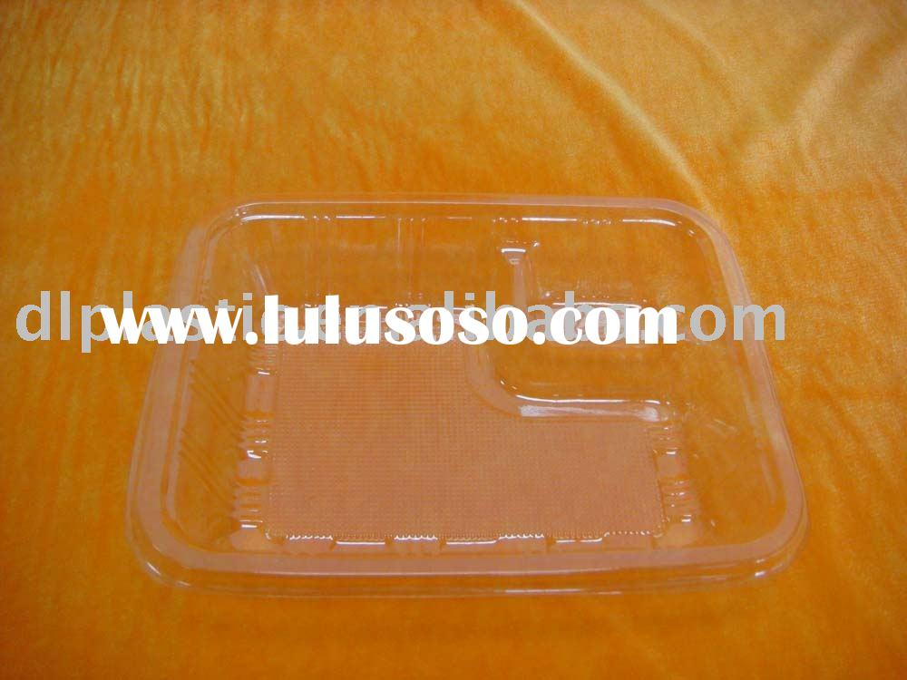 rectangle disposable plastic tray