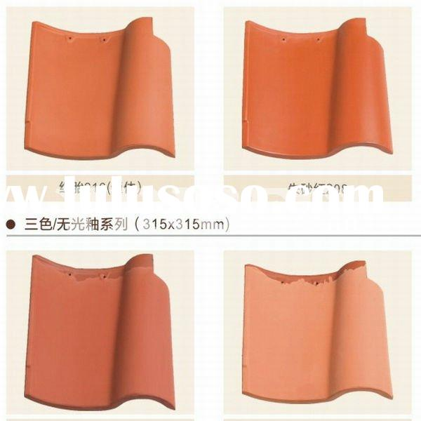 spanish red clay roof tiles for clay curved roof tile and flat clay roof tiles