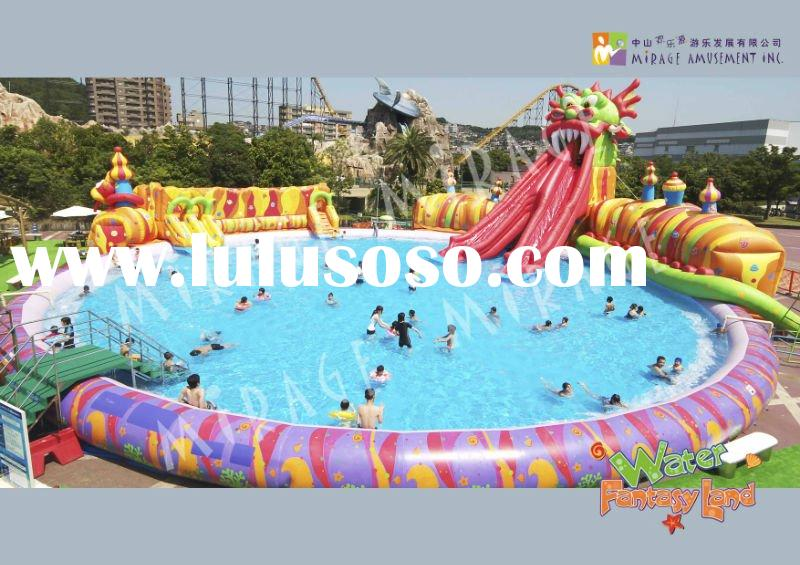 water park and amusement park--Fantasy Dragon Pool