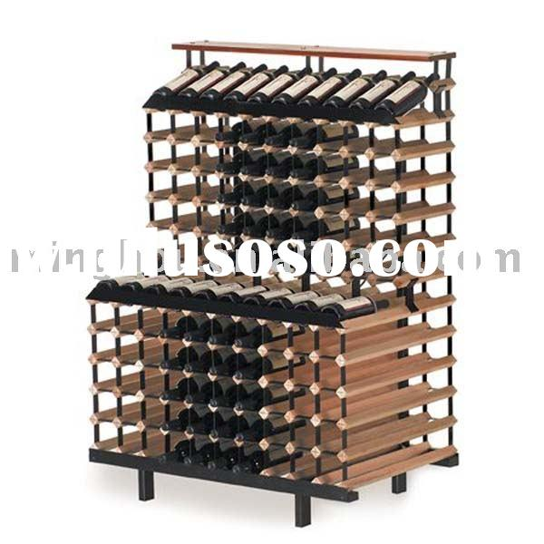 160 bottles wooden wine rack,wood wine rack,wine shelf
