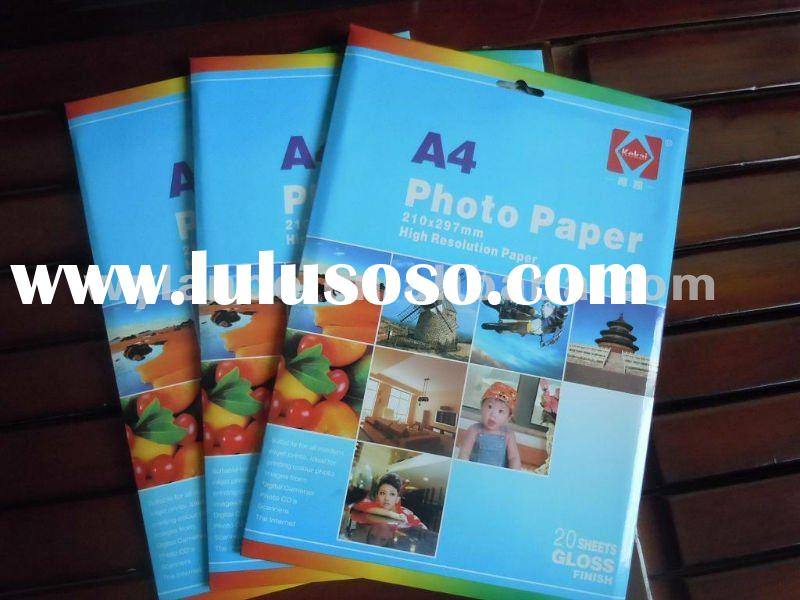 200GSM/m2 - A4*20 sheets - Glossy Photo Paper