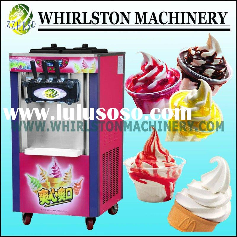 2012 New Hot Automatic Stainless Steel table top soft serve ice cream machine (CE) 0086 13526859457