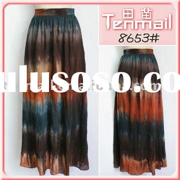 2012 fashion skirt, cheap long skirts, skirts womens,gypsy skirts