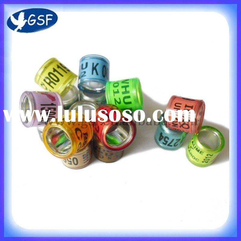 2012 hot sale bands fashion rings pigeon bands pigen leg rings bird rings pet rings lovebird bands