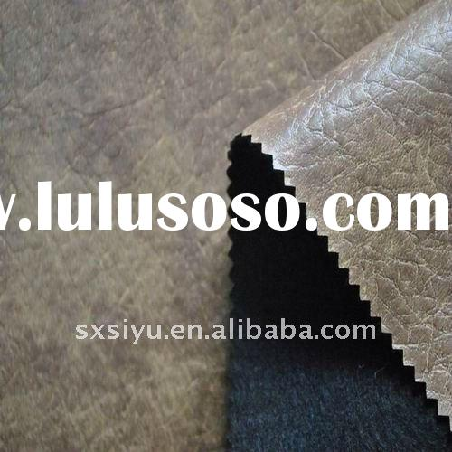 2012 popular design pvc faux sofa cover leather