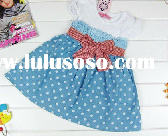 2012 summer fashion hot selling korean girls' puffy dress